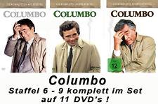 11 DVDs  * COLUMBO  -  SEASON /  STAFFEL 6 - 9 IM SET # NEU OVP +