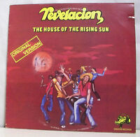 "33T REVELACION Vinyl LP 12"" THE HOUSE OF THE RISING SUN - CROCOS 337 702 + RARE"