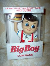 Collectible Big Boy Restaurant Coin Bank-New in Box-Big Boy with Hamburger