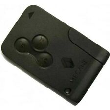 New 3 Button Key Card for Renault Megane Scenic & Clio 2002-2008