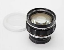 CANON 50mm F/0.95 DREAM LENS PROFESSIONALLY CONVERTED TO LEICA M MOUNT