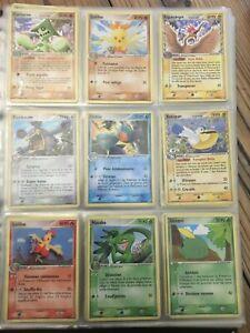 Lot de 48 Cartes Pokemon 100 % Bloc EX rare ...Gardiens de Cristal