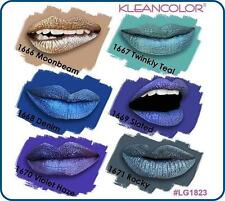 ( 6 PCs set ) Kleancolor Madly Matte Metallic Liquid Lip Gloss Lipstick LG1823