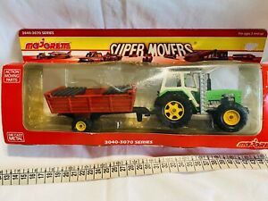 MAJORETTE SUPER MOVERS TRACTOR 3040-3070 Series NEW VINTAGE
