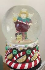 Vintage Dept 56 Snowglobe These are a Few of My Favorite Things Angel Strawberry