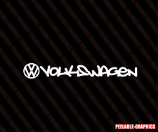VW Volkswagen Decal Sticker jetta gti vw buggy beetle (Choose size & Color)