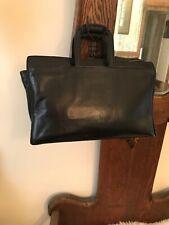 Vintage Hartmann Black Leather Briefcase Portfolio Attache $310
