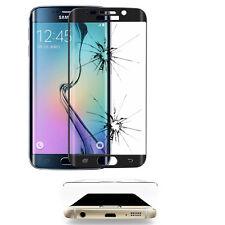 Safety Glass Samsung Galaxy S6 Edge Sm-G925F Screen Protector Edge Curve Black