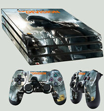 PS4 Pro Skin Tom Clancy THE DIVISION City 01 AUTOCOLLANT + 2 x pad vinyle LAY