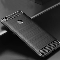 For Xiaomi Redmi 4X/ Note 4X Brushed Shockproof Case Slim Soft Rubber Back Cover