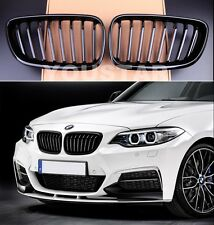 FAST EMS X2 GLOSS BLACK GRILLS for BMW F22 F23 F87 2 SERIES M235i M2 TAX FREE