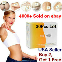 10/30Pcs Slim Patch Weight Loss Burn Fat Diet Fast Acting Slimming Pad