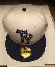 Tampa Yankees New Era 59fifty 2014 7 3/4 MILB NWT Hat Cap USA Red White Blue 4th