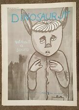 Dinosaur JR Without a sound 1994 press advert Full page 30 x 42 cm  poster
