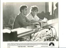 Emilio Estevez Craig Sheffer That Was Then This Is Now Movie Still Press Photo