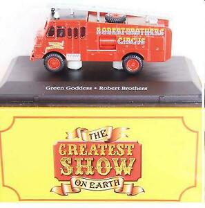 BOXED ATLAS GREATEST SHOW ON EARTH ROBERT BROTHERS GREEN GODDESS FIRE ENGINE