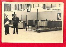 "PHOTO "" STAND MOBELWERK RUDERSBERG MULTIPLEX CARMAUX "" 1960 ??"