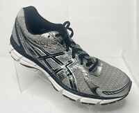 Asics Men's Size 13 Shoes Gel-Excite 2 Running Training T423N Black Silver White