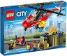 LEGO 60108 Unità di risposta antincendio - CITY 5-12 Pz257