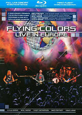 FLYING COLORS: LIVE IN EUROPE NEW BLU-RAY Marillion Dream Theater Rush Yes Morse