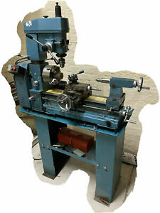 Clarke CL500m metal lathe/ Mill drill with 4 jaw independant chuck