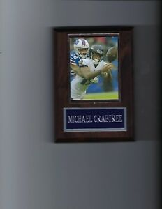 MICHAEL CRABTREE PLAQUE BALTIMORE RAVENS FOOTBALL NFL