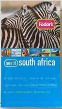 See it South Africa Fodor''s Travel GUIDE Full Color Photos Reviews Tips