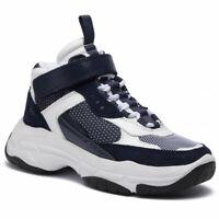 Calvin Klein Jeans Missie B4R0824 White/Navy  Mordikai - Chaussures Unisexe