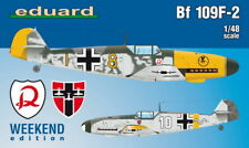 Eduard 1/48 WWII German Fighter Aircraft Bf 109F-2 [Weekend Edition]