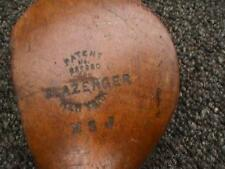ANTIQUE VINTAGE SLAZENGER PATENT SCREW SOCKET WOOD SHAFT DRIVER