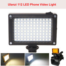 Ulanzi 112 LED Video Light Streaming Photographic Lamp For Camcorder Canon Nikon