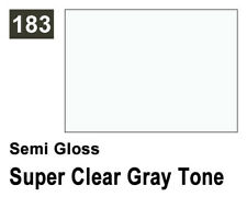 Mr.Hobby G183 Mr.Color Semi Gloss 183 Super Clear Gray Tone (10ml) modellismo