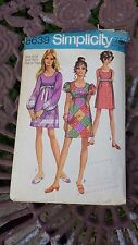 Vintage SIMPLICITY PATTERN 8639 Junior Ladies Sizes 9 / 10 Dress Teen