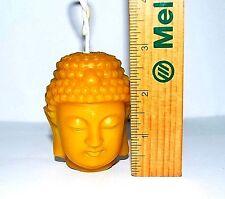 PURE Beeswax Buddha head Candle decorative candles pillar votive Handmade gift