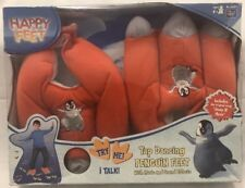 HAPPY FEET TAP DANCING PENGUIN FEET WITH MUSIC SOUND EFFECTS & THEY TALK NEW