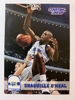 1994 Kenner Starting Lineup SHAQUILLE O'NEAL Basketball Card Orlando Magic NBA
