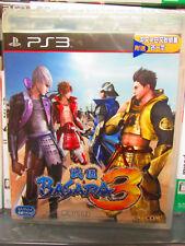Sengoku Basara 3 (2010) Brand New Factory Sealed Asian Playstation 3 Import