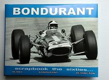 BOB BONDURANT Scrapbook the sixties-CARROLL SHELBY-FORMULA1-CANAM-COBRA-Daytona