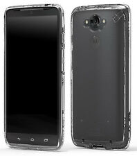 PUREGEAR CLEAR SLIM SHELL CASE TRANSPARENT COVER FOR MOTOROLA DROID TURBO XT1254