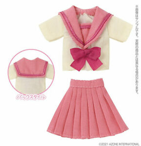 Picco Neemo Wear 1/12 Cheerful Sailor Outfit Set Yellow x Pink (DOLL ACCESSORY)