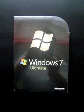 Microsoft Windows 7 Ultimate 32/64-bit DVD NEW GUARANTEED GENUINE FULL UK RETAIL