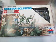 ESCI WWII RUSSIAN 48 FIGURES