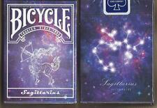 1 DECK Bicycle Constellation SAGITTARIUS zodiac playing cards FREE USA SHIPPING