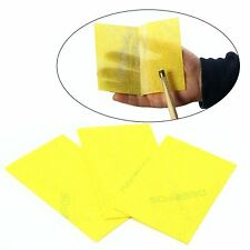Pack of 3 Cue & Case YELLOW Magic Cue Cleaning Cloth - Professional Cleaning