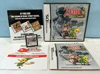 The Legend of Zelda: Spirit Tracks (Nintendo DS, 2009) Complete with Manual