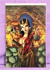 Ale Garza BLOOD QUEEN #1 High-End Virgin Art Ultra-Limited Ed (Dynamite, 2014)!