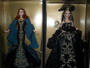 GLOBAL GLAMOUR VENETIAN MUSE AND SORCHA BARBIE GOLD LABEL