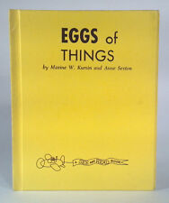 Vintage Book Eggs Of Things Kumin And Sexton See And Read Book HTF