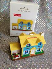 2011 Hallmark Ornament Fisher Price Play Family House - Doorbell Rings!
