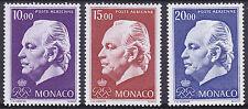 Monaco 1974 poste aérienne valeurs élevées Ensemble um yverta 97-9 Cat 41.50 euros